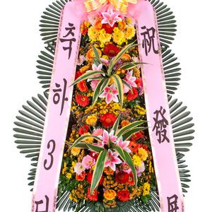 축하화환3단
