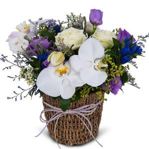 럭셔리혼합꽃바구니1