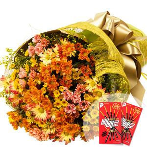 소국혼합꽃다발-계절상품