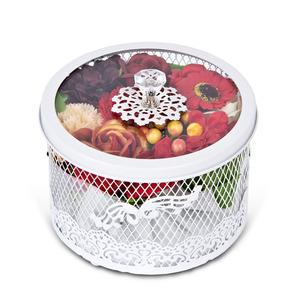 큐티 원형 꽃박스2