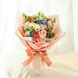 ●핑크꽃다발(화병제외)
