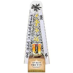 근조쌀화환10K