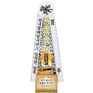 근조쌀화환20K