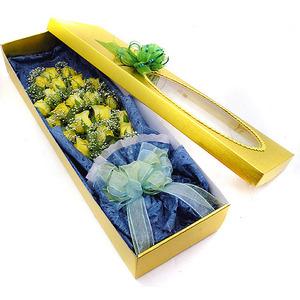 노란장미꽃박스2호