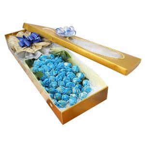파란장미꽃박스3호